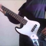 Watch: Bass cover kiss (Hype!)