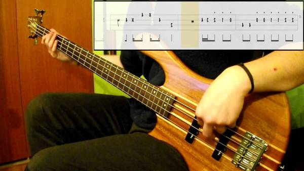 bass cover i want to break free