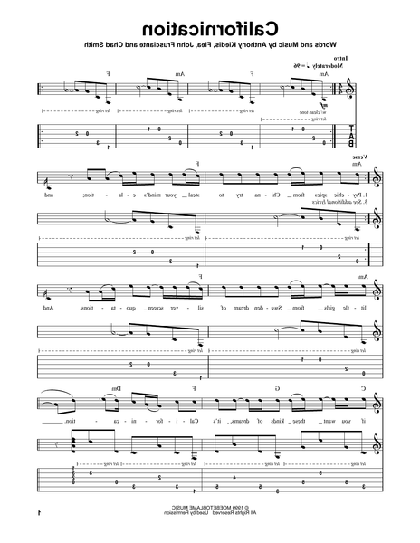 bass tab echoes