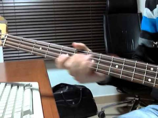 bass tab road to hell