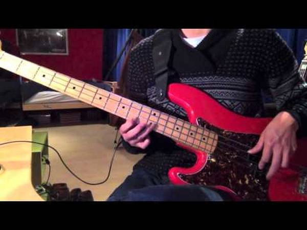 hotel california bass cover
