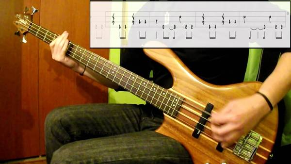 no easy way out bass tab