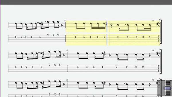 bass tab undisclosed desires