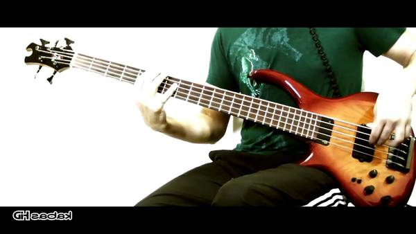 youtube bass cover hysteria