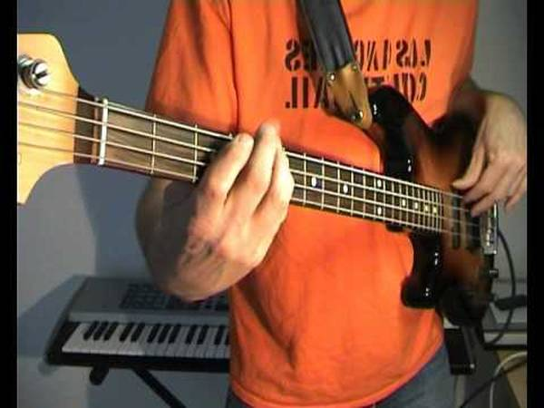 bass tab give up the funk