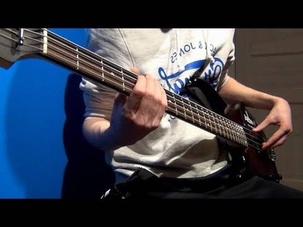 tool schism bass cover youtube